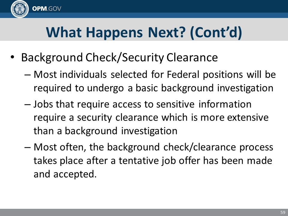background check for federal jobs
