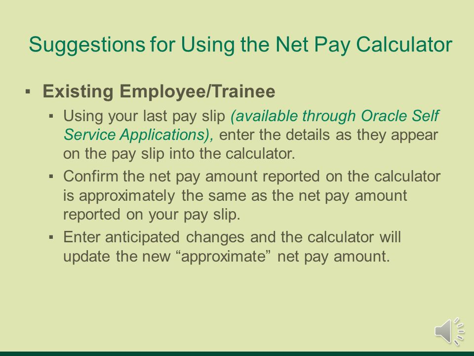 uab net pay calculator online tutorial uab net pay calculator is an