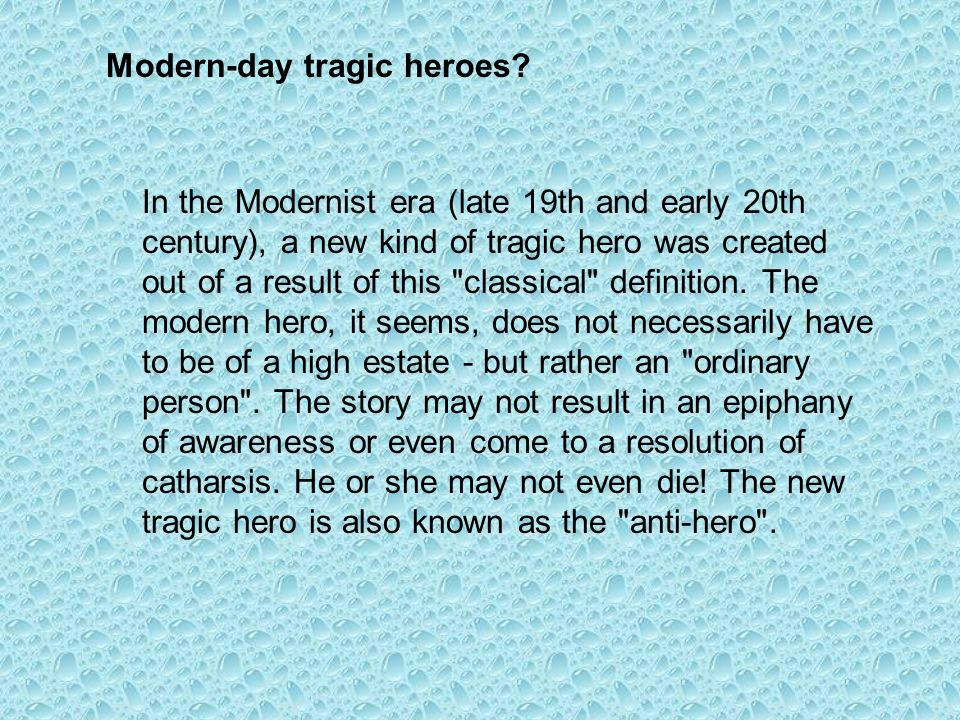 modern day hero definition