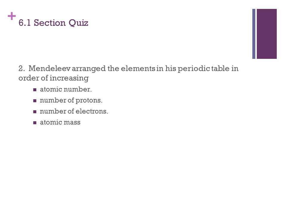 Unit 5 Electrons And Intro Periodic Table We Have Learnt