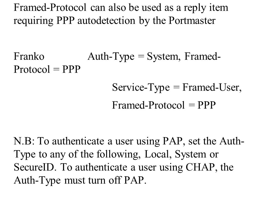FreeRADIUS Install and Configuration Frank A. Kuse 07/05/ ppt download