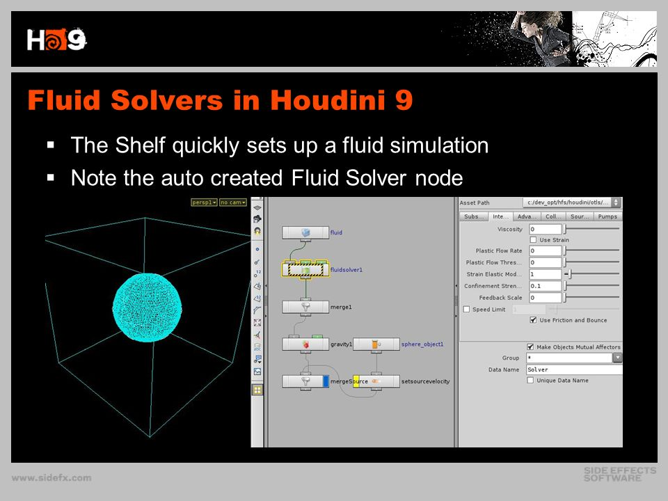 HOUDINI 9 ADVANCED FLUIDS Building a Fluid Solver SIGGRAPH 2007