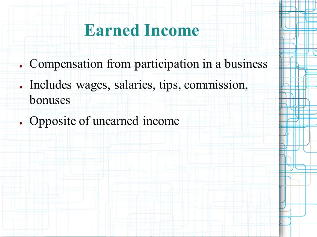 Topic 3 – Earning Your Money Wealth Management ppt download