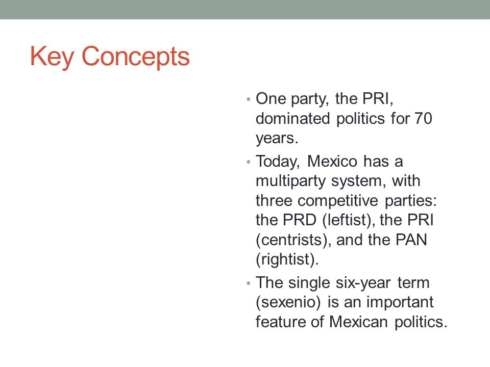 features of multi party system