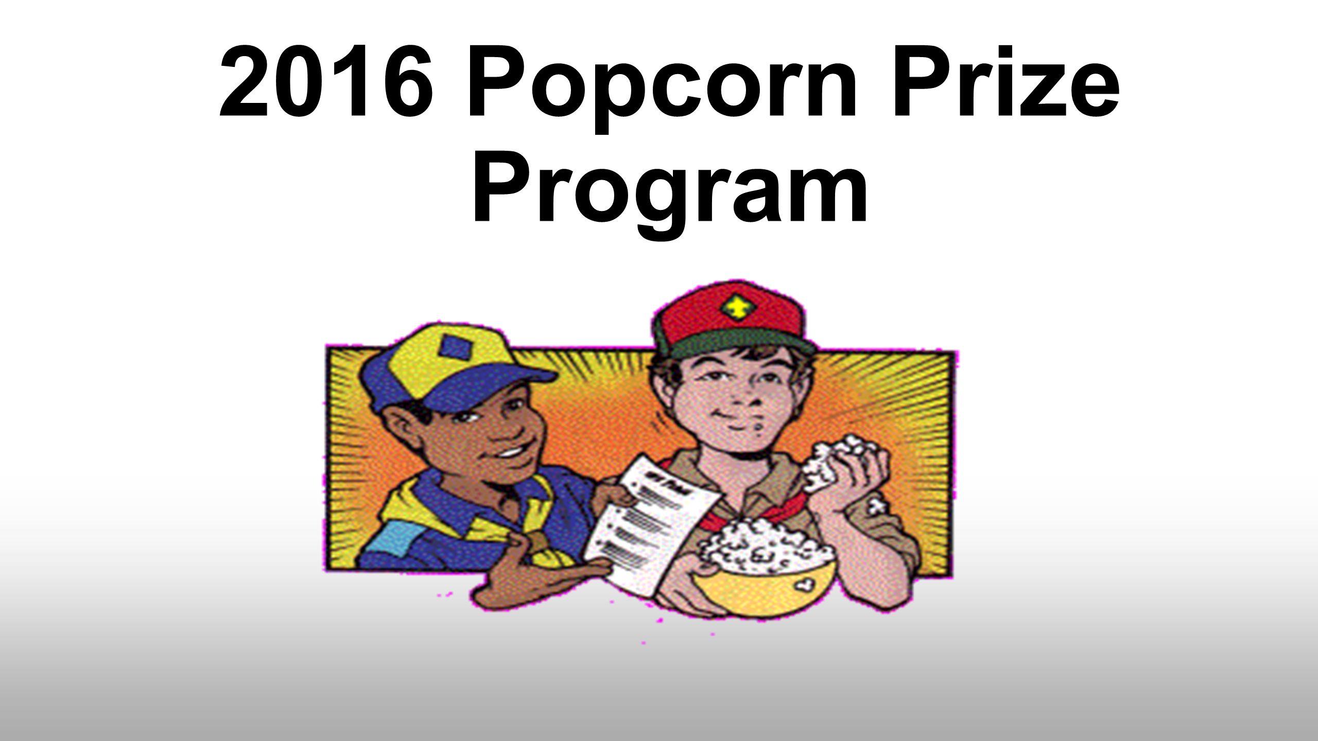 Boy scout popcorn prizes 2018 corvette