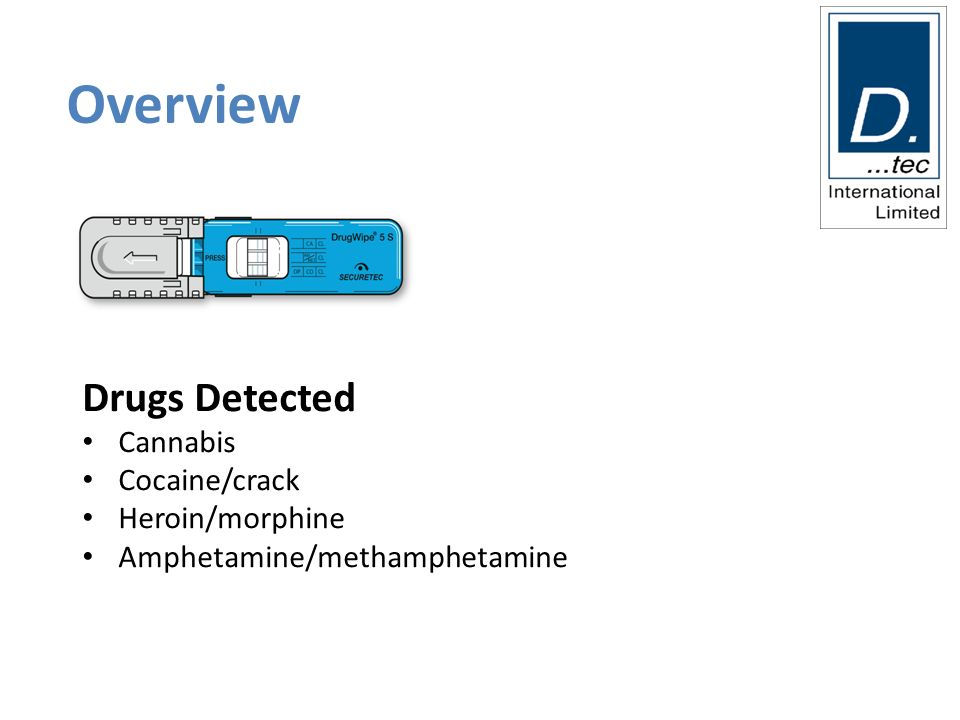 Train the Drug and Alcohol Tester 24 th May ppt download