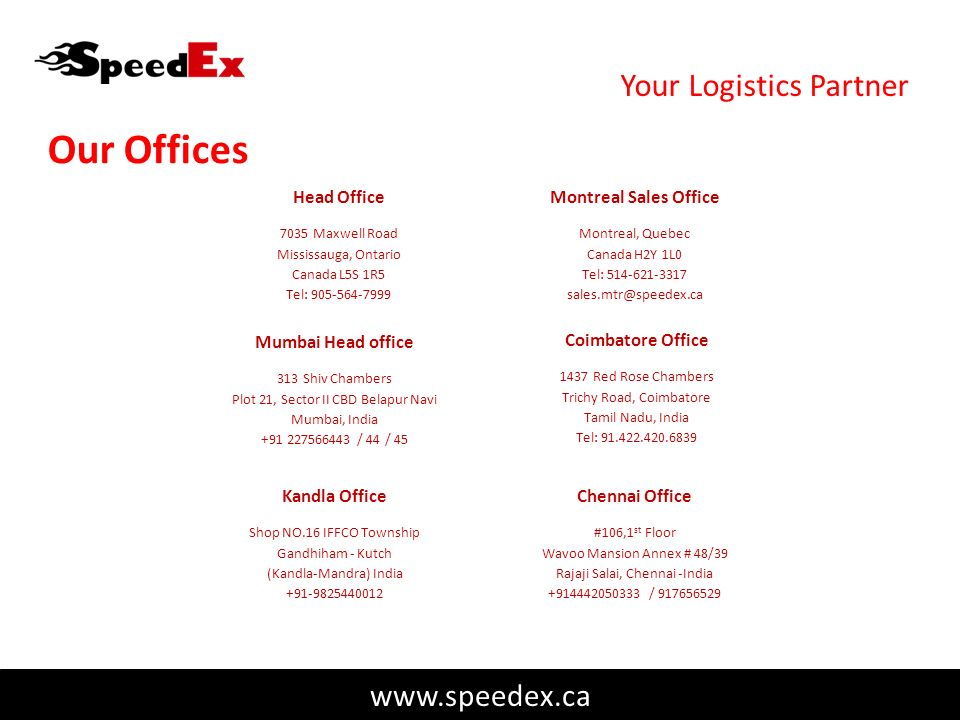 Your International Logistics Service Provider - ppt download