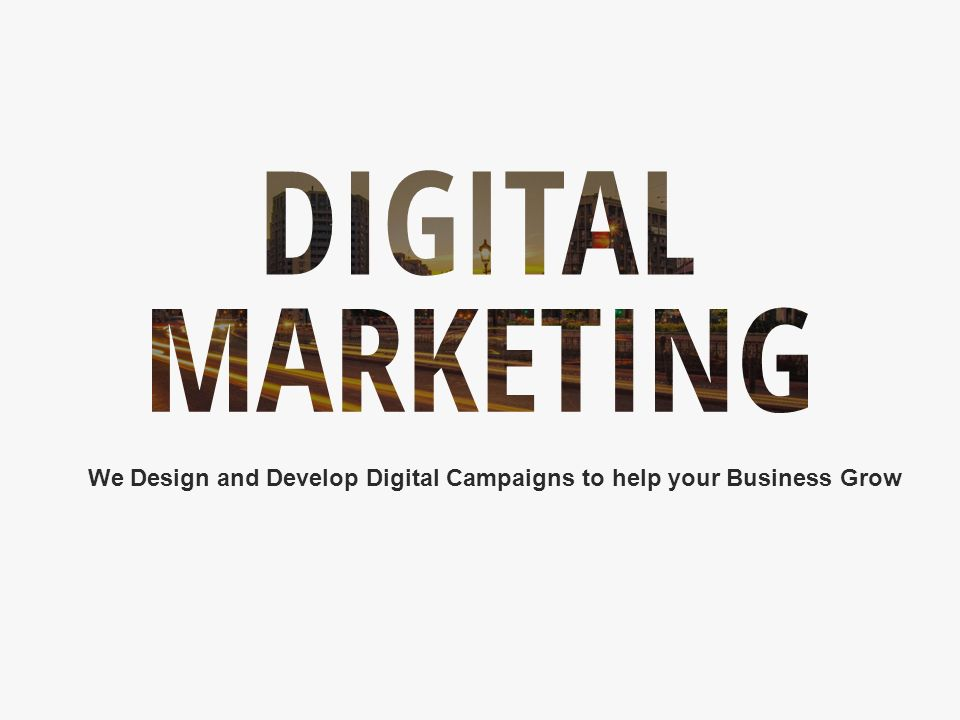 1 Digital Marketing Www Dekhonetwork We Design And Develop Campaigns To Help Your Business Grow
