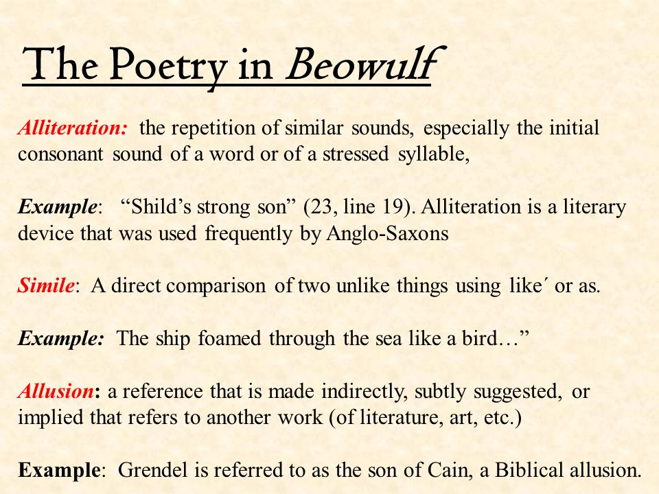 Beowulf Anglo Saxon Period The Anglo Saxon Period Is The Earliest