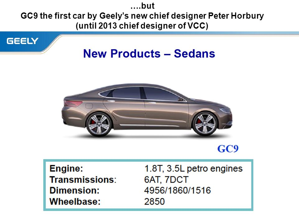 Geely + Volvo A global strategic fit? Inge Ivarsson Professor of