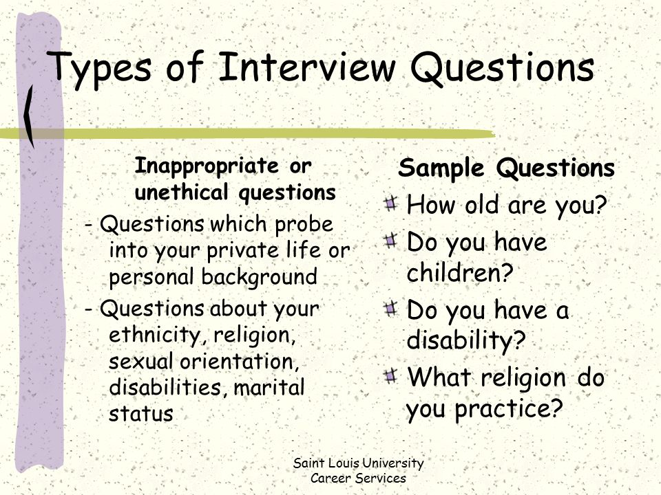 College students religion career sex questionaire