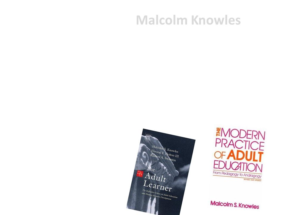 malcolm knowles biography