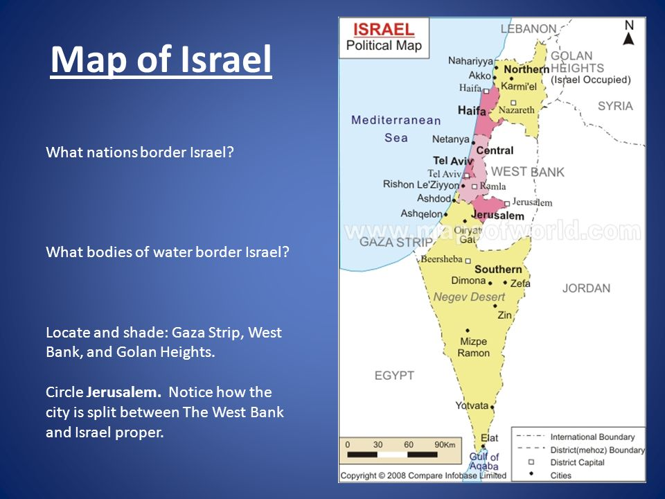 A Historical Summary of the Israeli/Palestinian Conflict