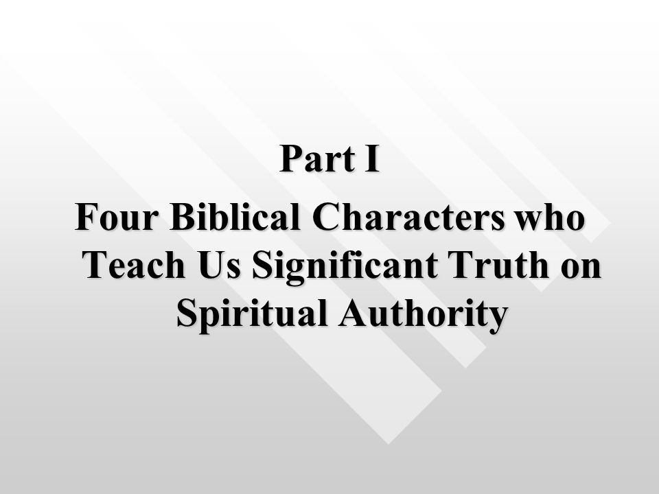 God's Right of Rule in My Life A Study in Spiritual Authority  - ppt