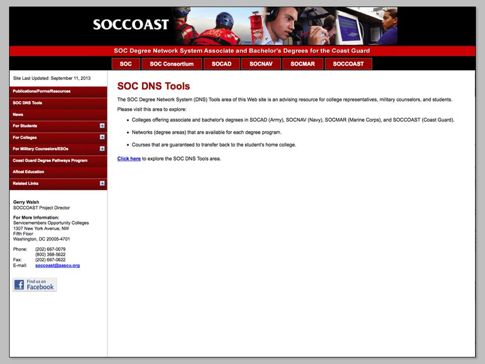 Soc Degree Network System Webinar New Point Of Contact Orientation