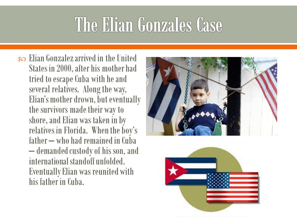 Image result for a decision made on what to do with elian gonzalez
