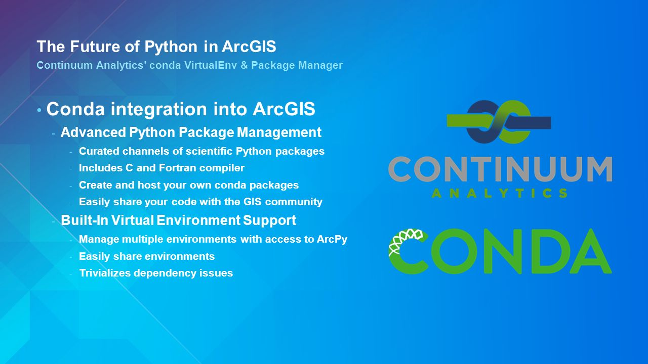Extending ArcGIS with Python Clinton Dow – Geoprocessing Product