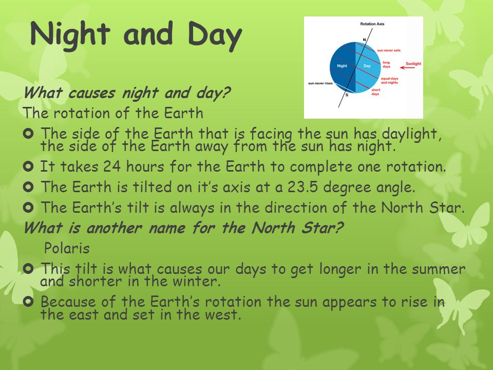 Earth's Rotation What does Rotation mean.