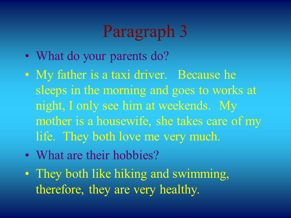 Composition Family Homepage  Paragraph Layout Para  1
