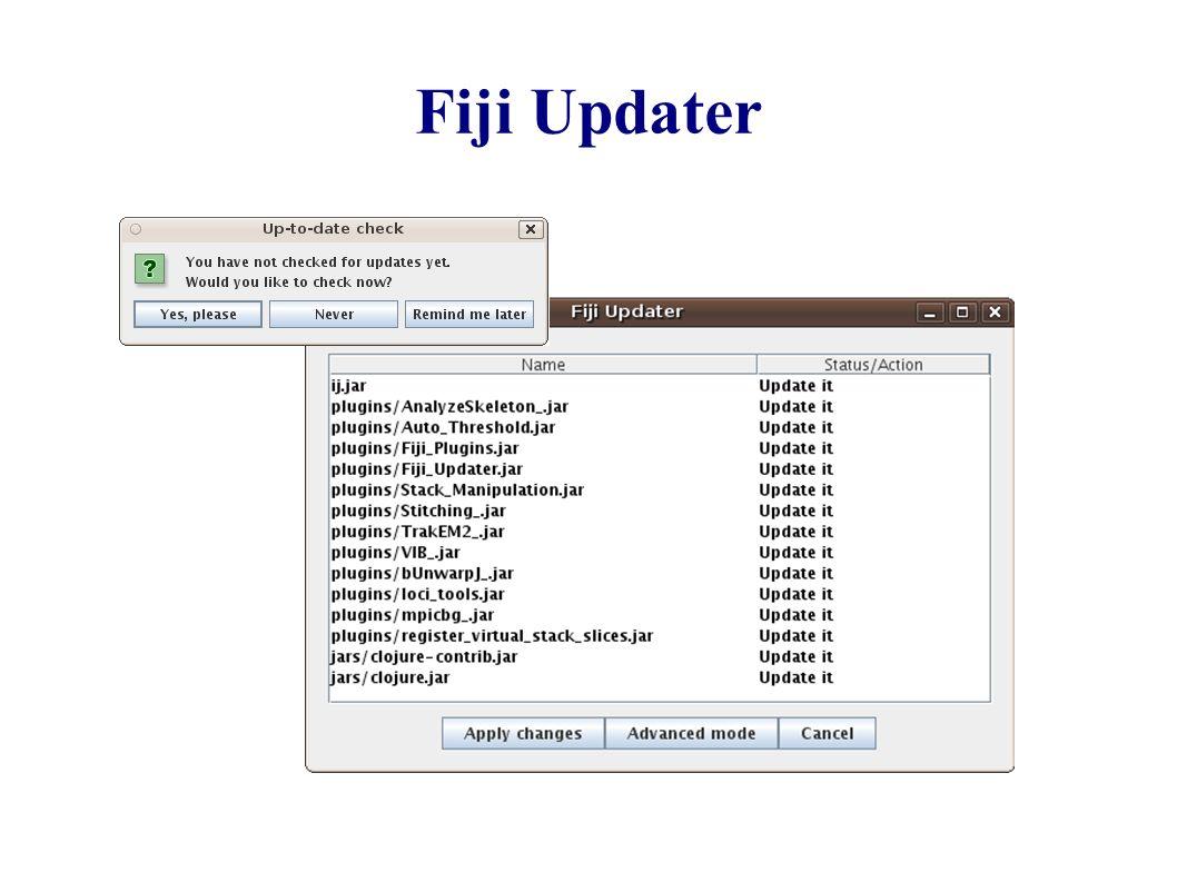 Fiji  Fiji Is Just ImageJ (batteries included) Fiji for