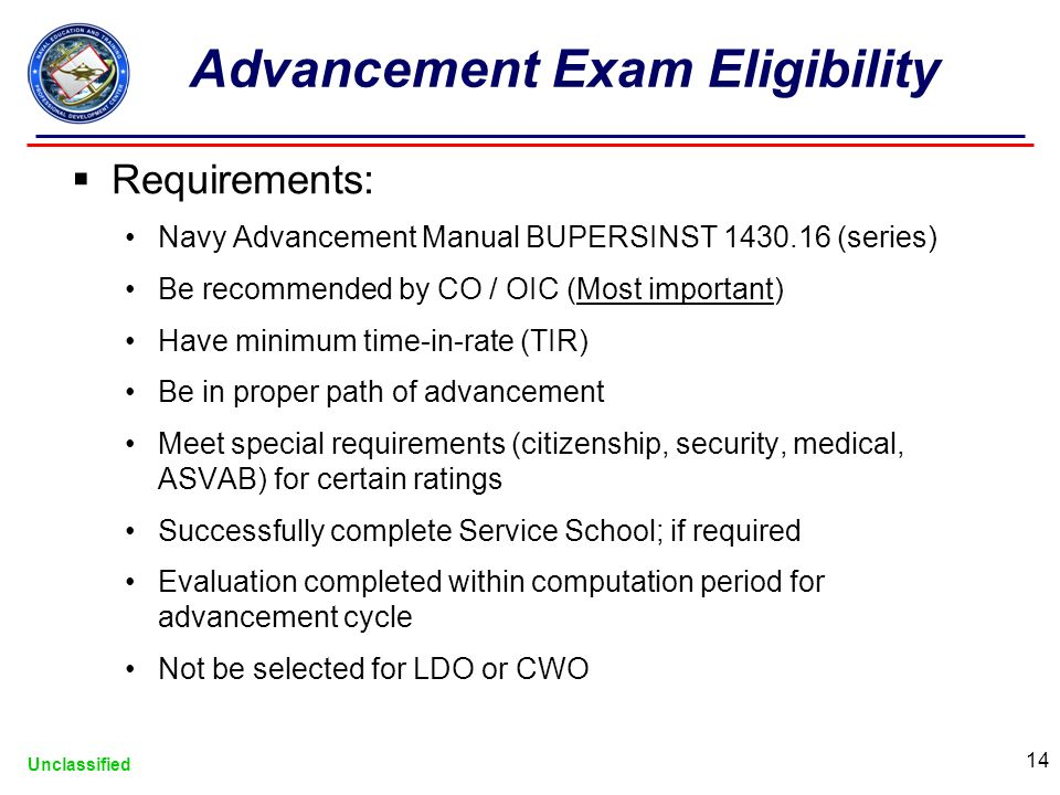 navy enlisted advancement system unclassified navy advancement rh slideplayer com navy advancement manual npc navy advancement manual 2016
