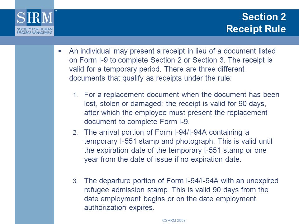 form i-9 3 day rule  Form I-6 Training for New Managers: Understanding and ...