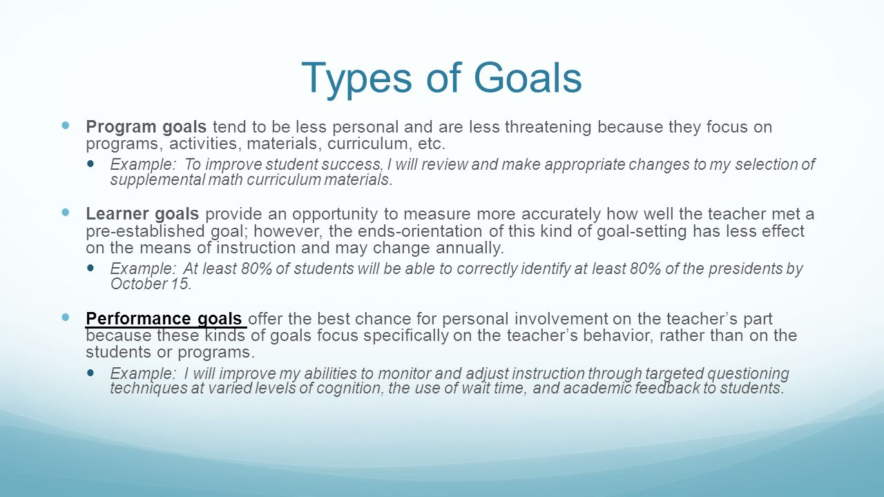 Setting Your Goals For TTESS Insert Campus Name Here July 15, ppt