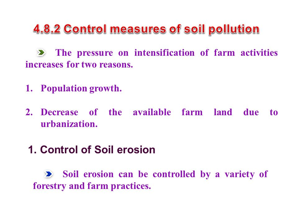 The pressure on intensification of farm activities increases for two reasons.