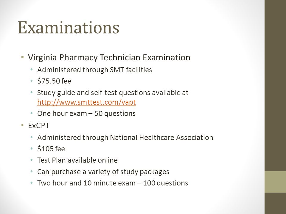 Study Guide For National Pharmacy Technician Certification Images
