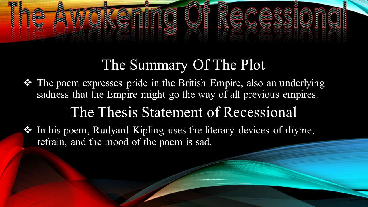 rudyard kipling summary