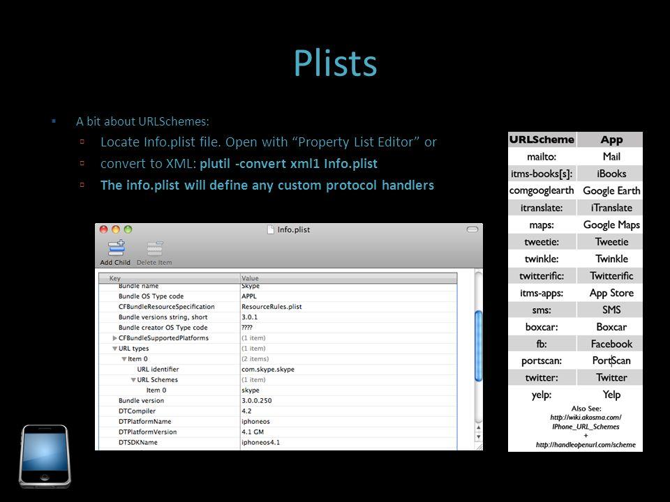 "Penetration Testing For iOS Applications  NSLog OWASP!"")"