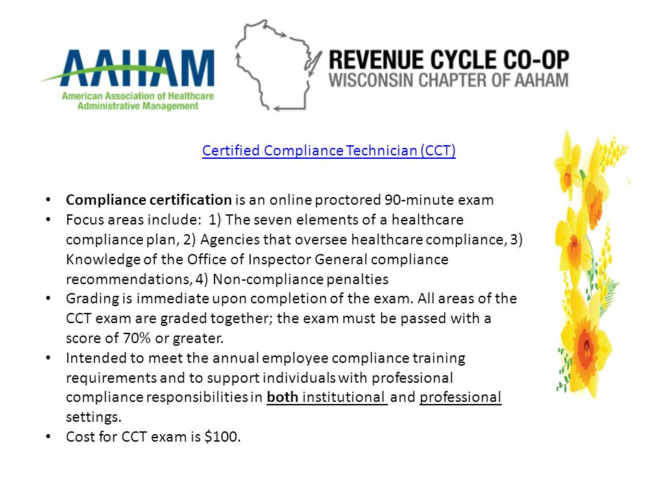 Session: AAHAM Certification Review Nicole Querio & Alene Meidl ...