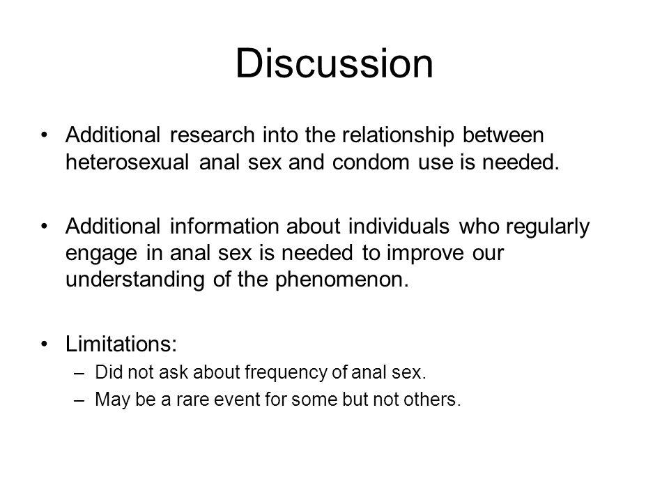 Heterosexual anal sex information