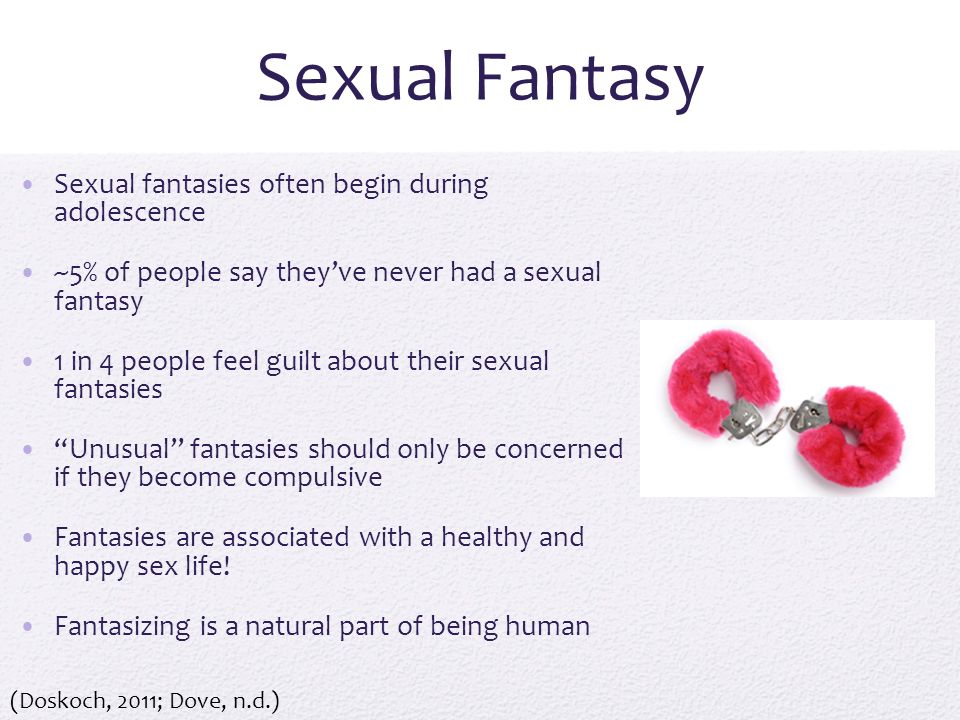 What does fantasy mean sexually