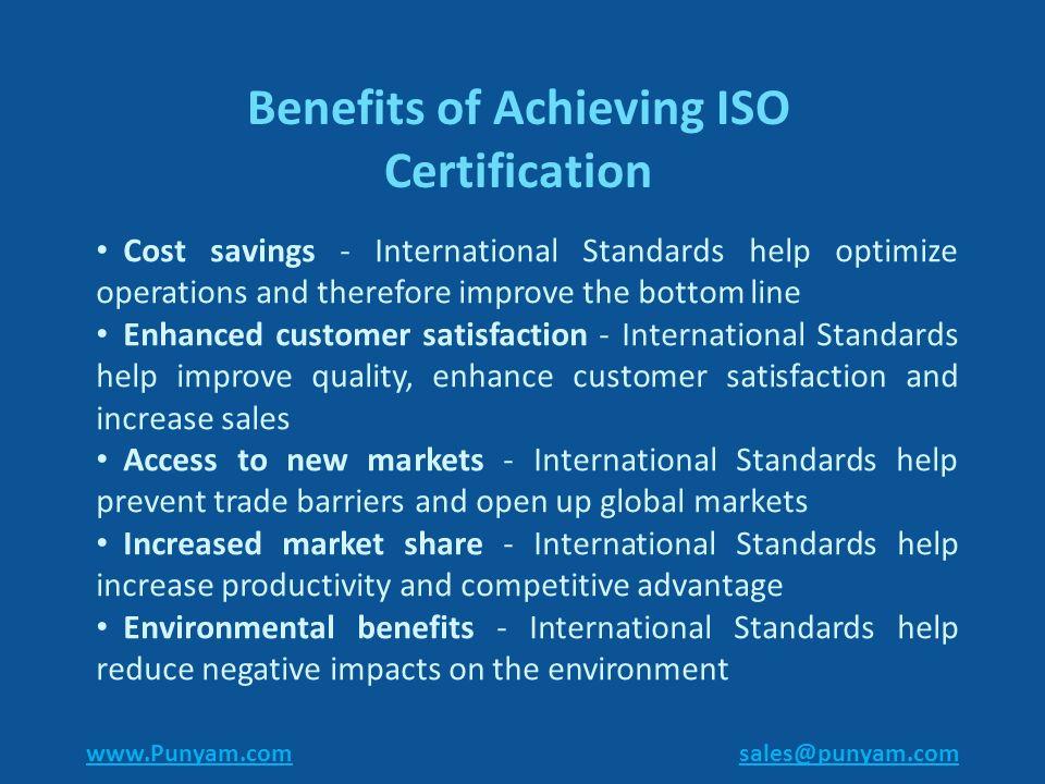 Iso Certification Consultancy Information Regarding Various