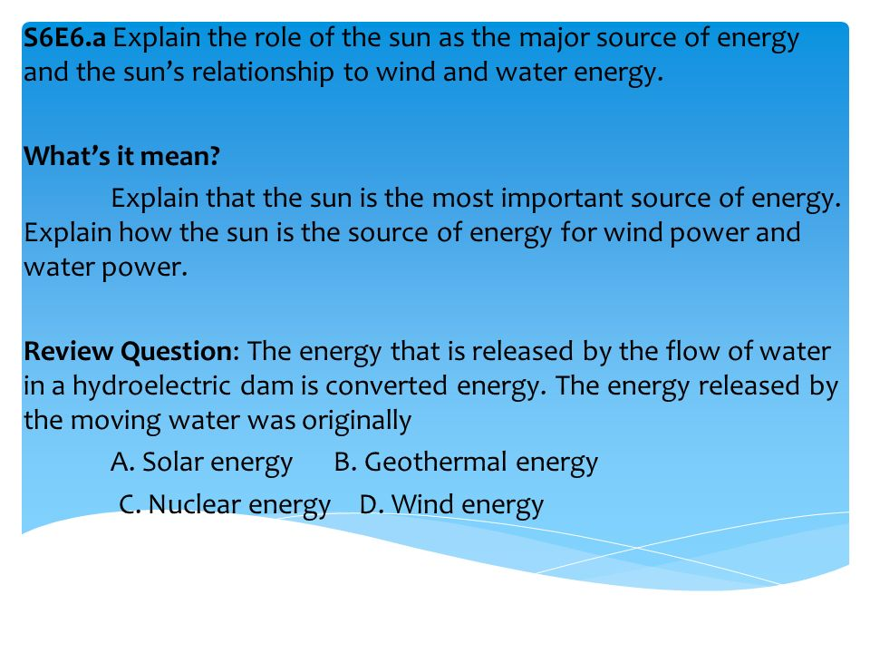 m1 discuss the role of energy Learning outcome 2 - the role of energy in the human body (p4/m1/d1) this is a powerpoint presentation which contains learning objectives and various activities.