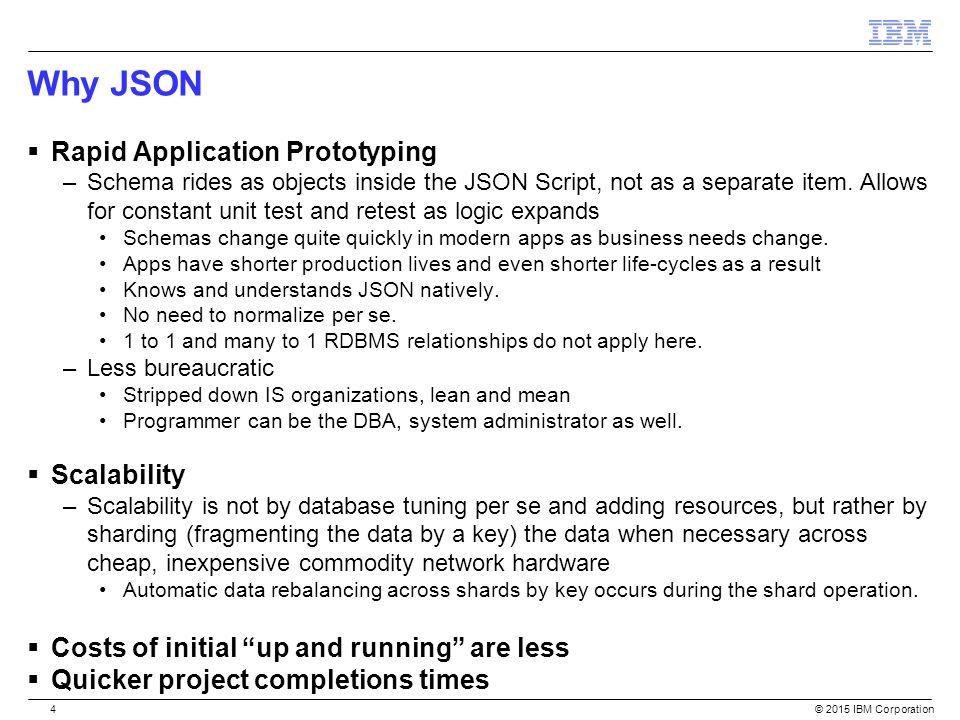 The Power of Hybrid – Informix & JSON Scott Pickett WW