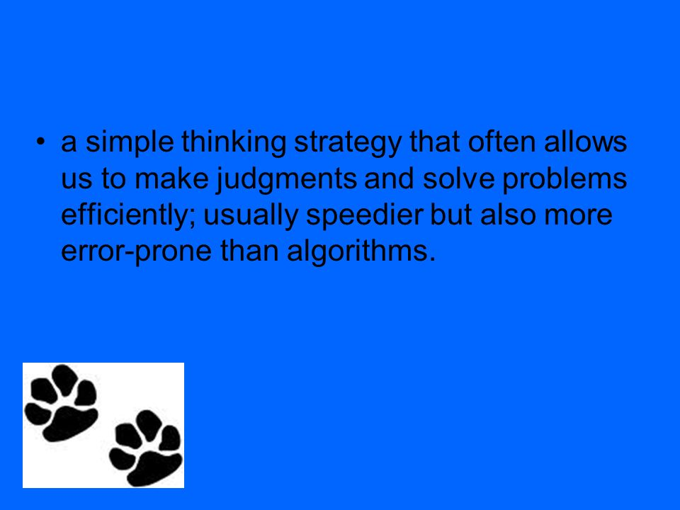 simple thinking strategy for solving problems