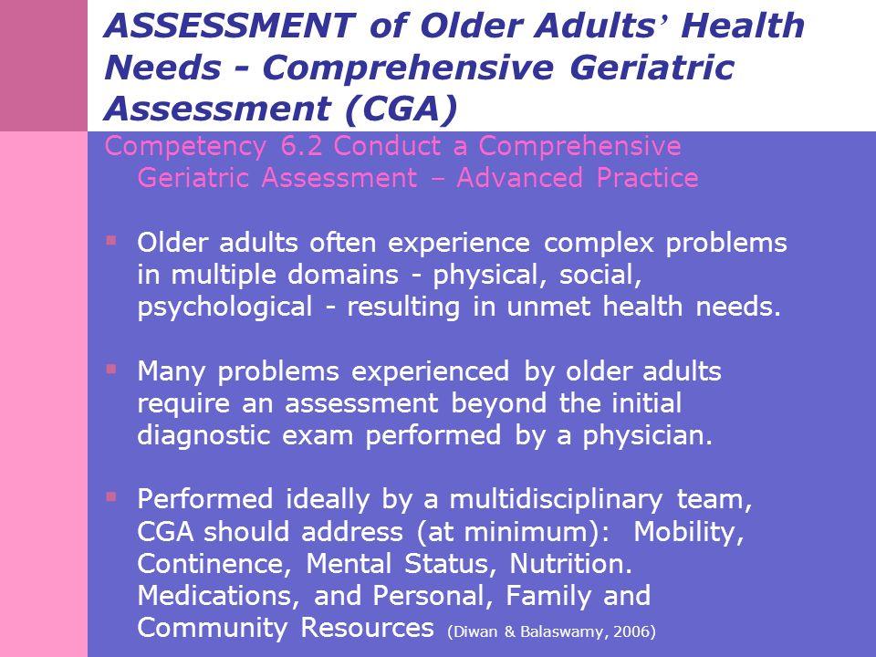 Older people's associations