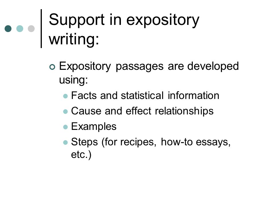 expository passage example
