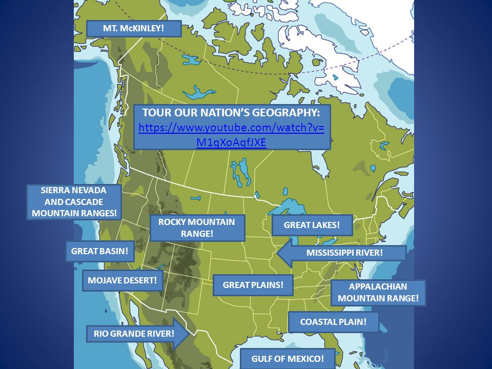 PHYSICAL FEATURES OF THE UNITED STATES!. APPALACHIAN MOUNTAIN RANGE ...