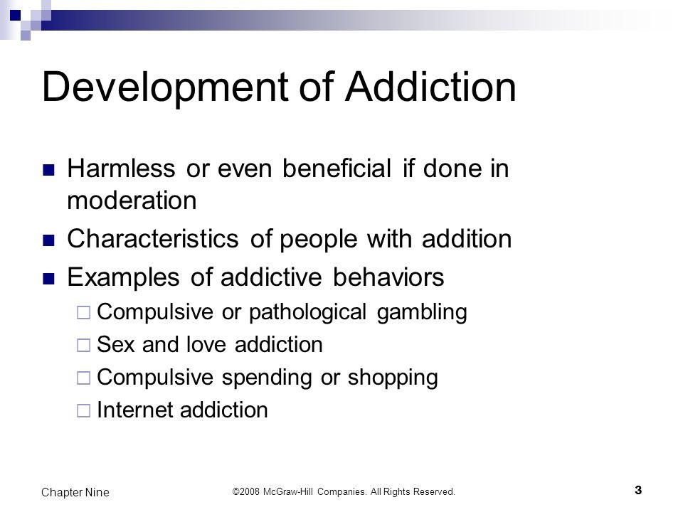 Characteristics of love addiction