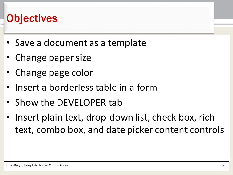 2 Save A Document As Template Change Paper Size Page Color