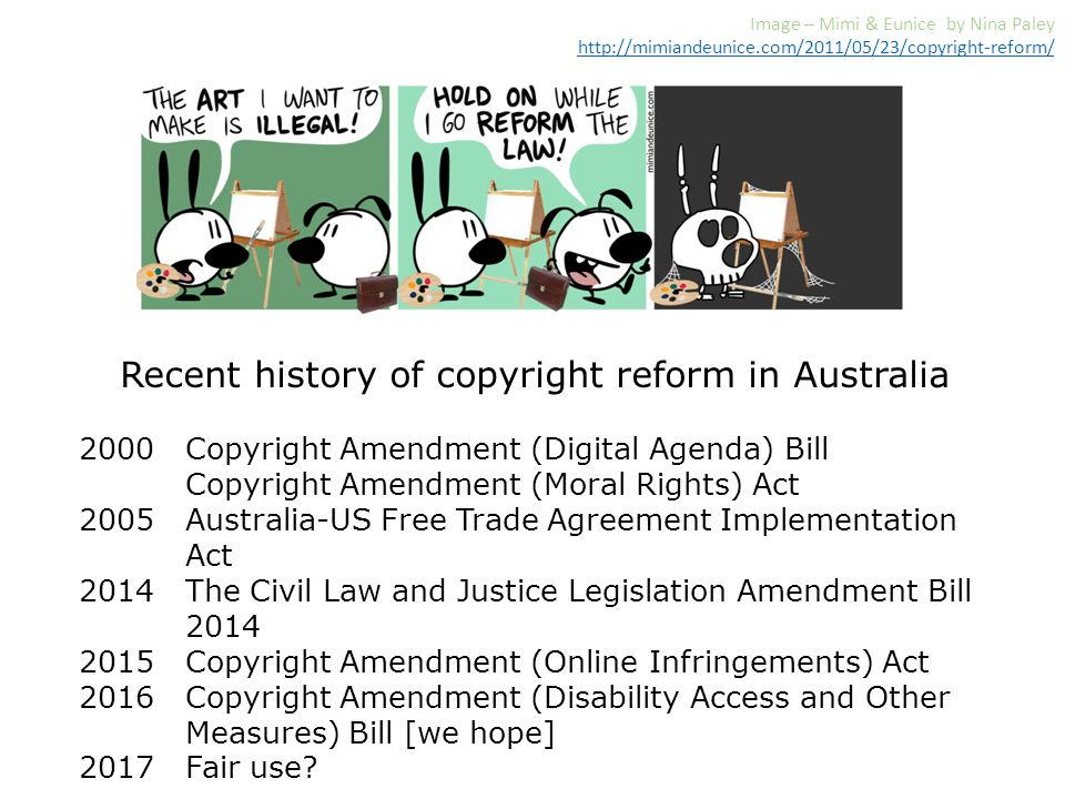 Copyright Reform In Australia 2016 Ifla World Library And