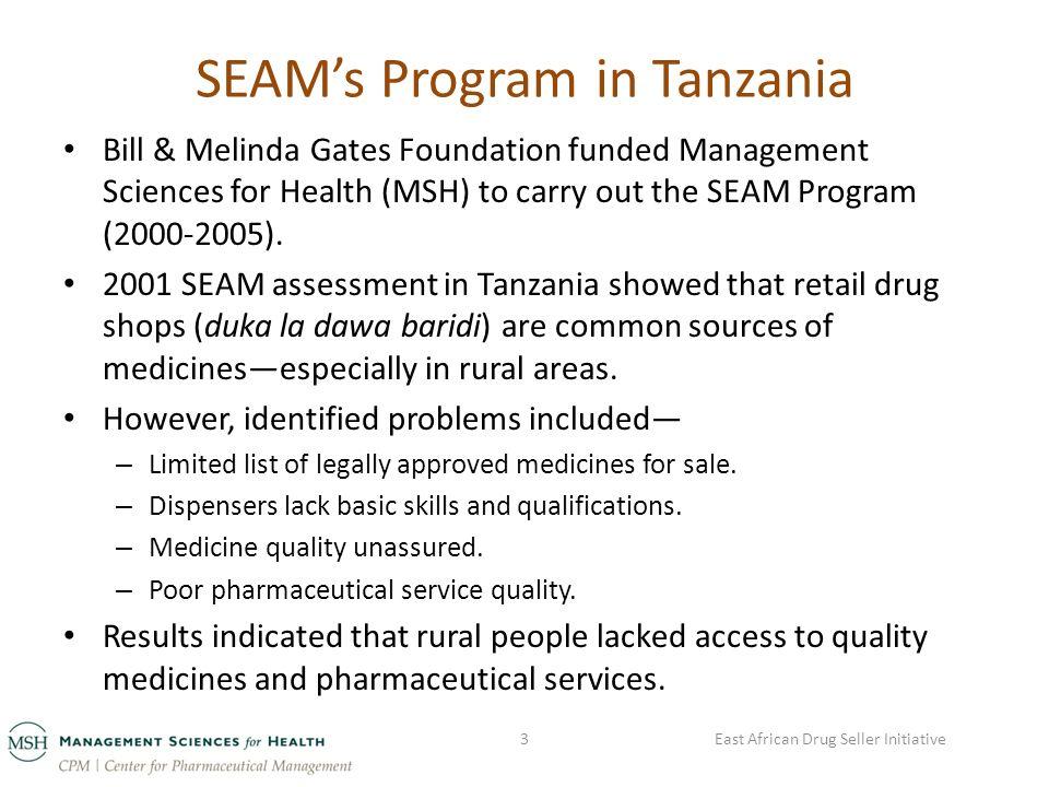 East African Drug Seller Initiative in Uganda Stakeholders