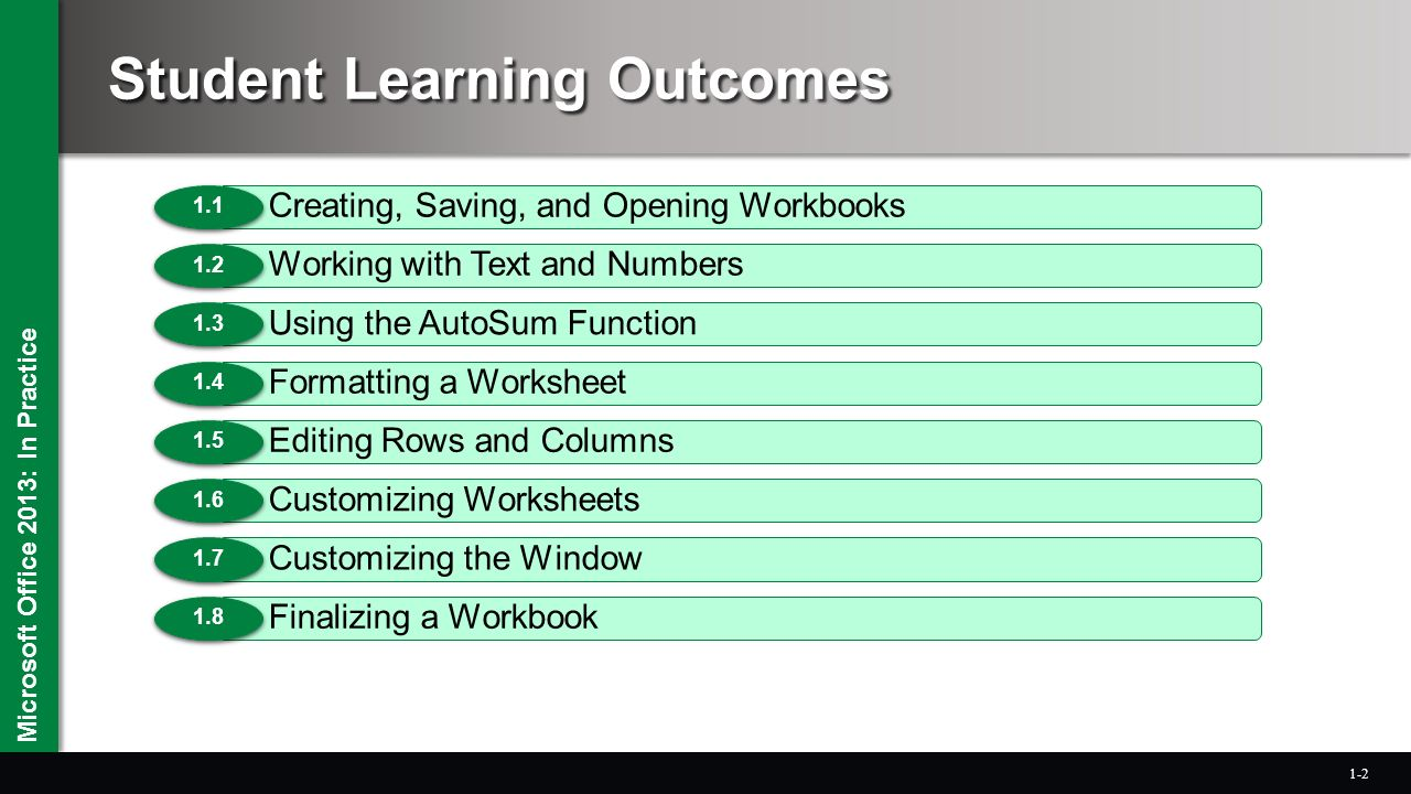 Worksheets Editing Practice Worksheets microsoft office 2013 in practice chapter 1 creating and editing 2 microsoft