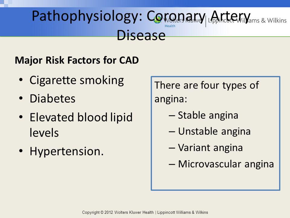 coronary artery disease major risk factors
