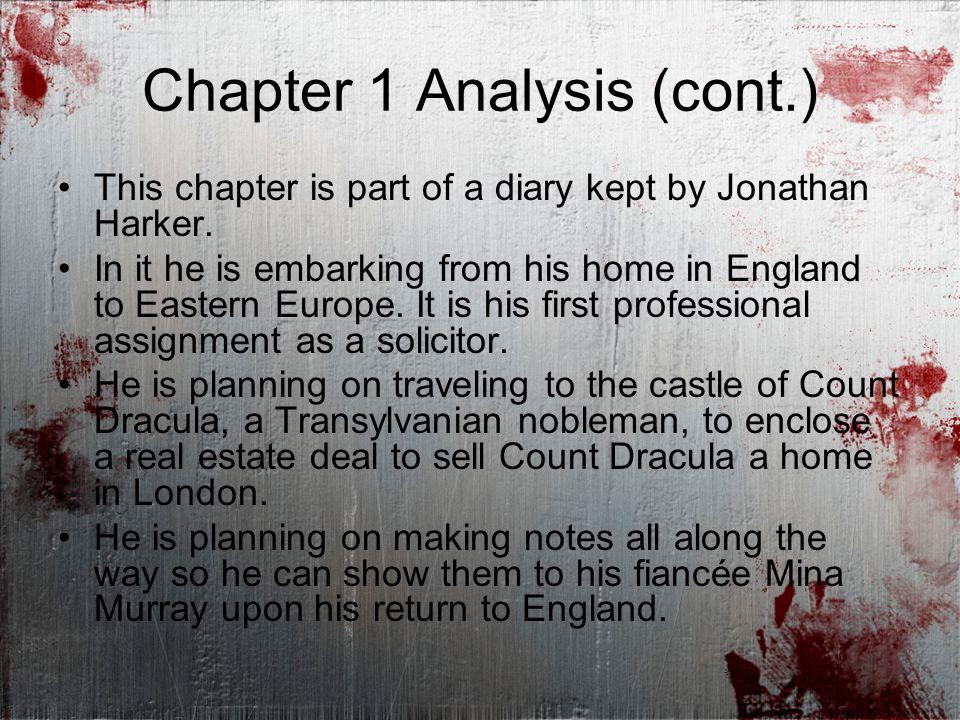 jonathan harker character analysis