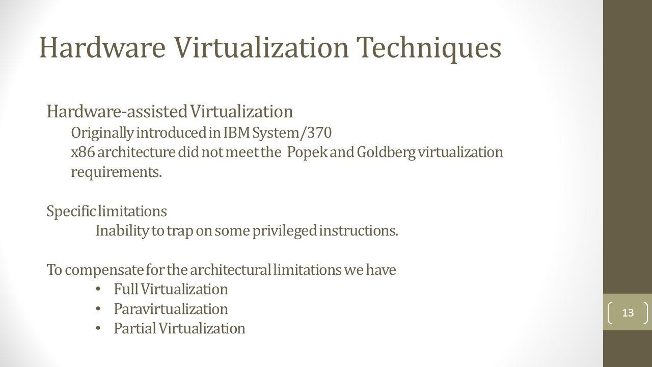 1 Virtualization