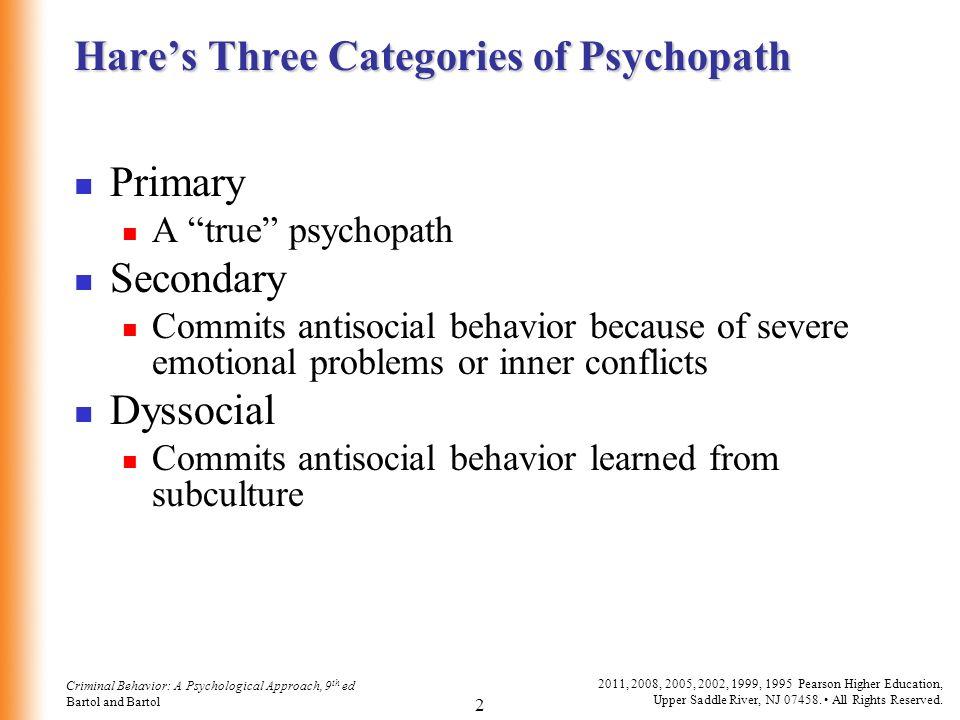 Dyssocial psychopath